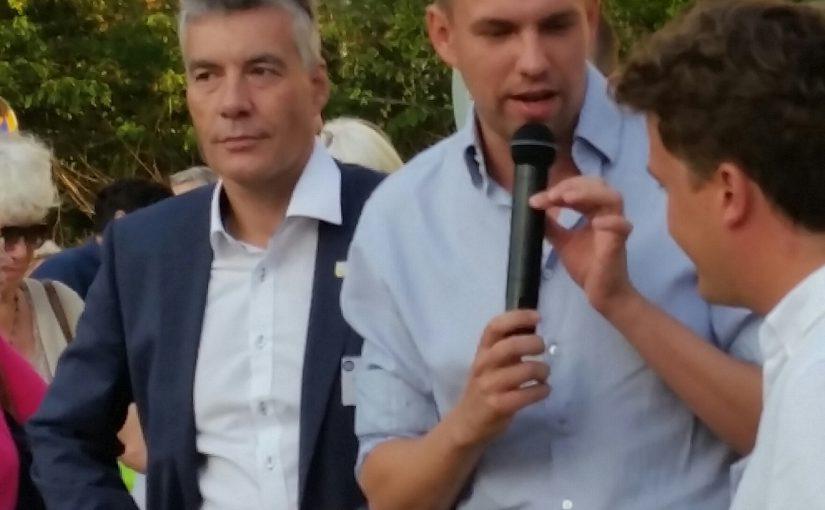 Carsten Engelmann (CDU) links im Bild